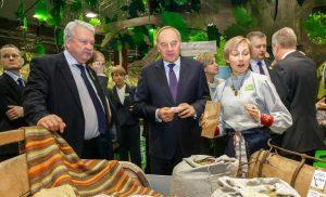 GW 2015, Partnerland Lettland, Rundgang des Lettischen Staatspräsidenten Andris Berzins. (#2)