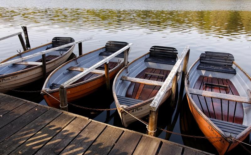 Badeseen Berlin: Besucher finden hier die Möglichkeit, sich ein Boot zu leihen. (#03)