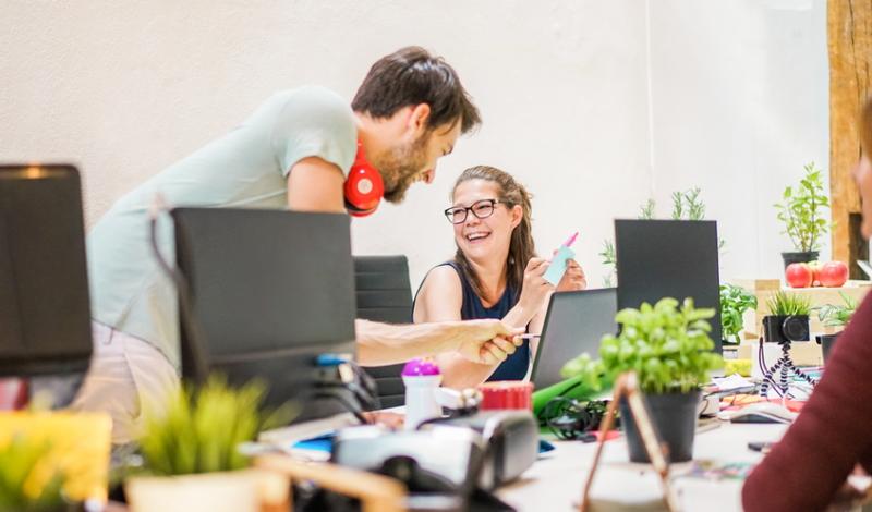 Erfolgreiche Start-ups oder solche, die es einmal werden wollen, setzen nach der Gründung auf ihre einzigartige Geschäftsidee